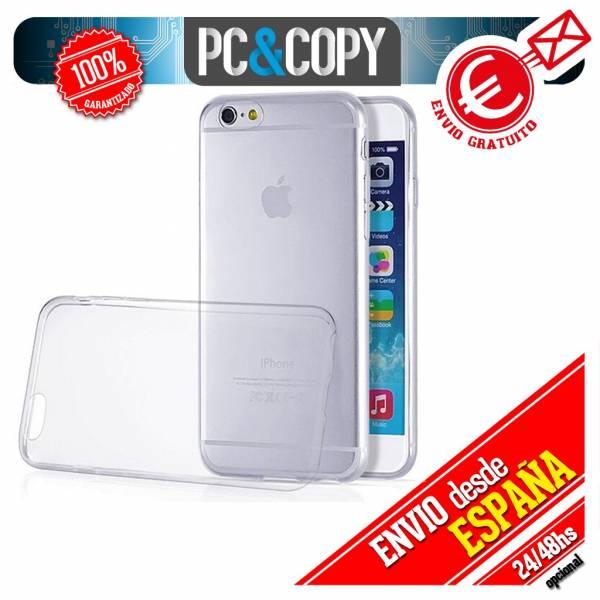 Funda-gel-TPU-flexible-transparente-para-iPhone-4-4S-5-5S-6-6S-6-Plus-6S-Plus-SE