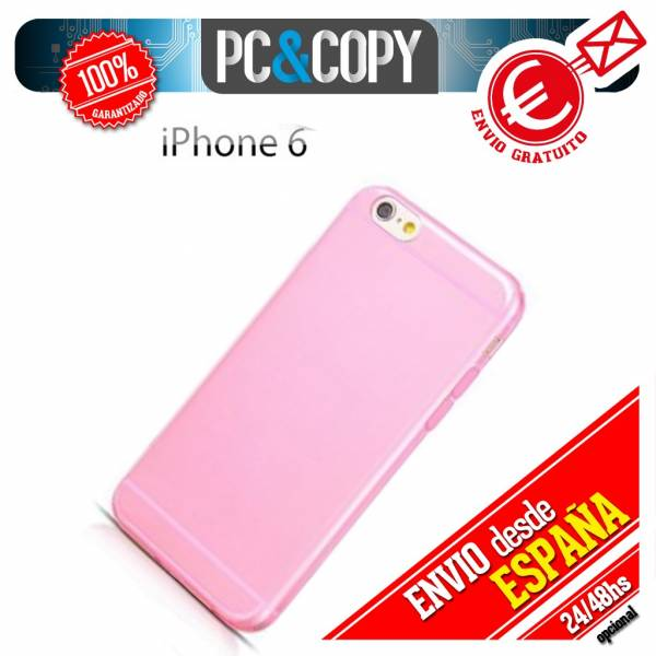 Funda-gel-TPU-flexible-transparente-para-iPhone-4-4S-5-5S-6-6S-6-Plus-6S-Plus-SE