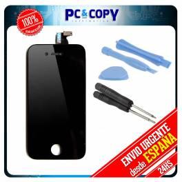 Pantalla LCD RETINA + Tactil completa iPhone 4 4G NEGRO HERRAMIENTAS