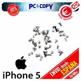 Pack tornillos iphone 5 blanco Kit tornillos iphone 5 Set tornillos iphone 5