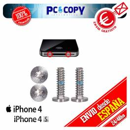 KIT PACK 2X TORNILLOS PENTALOBE PARA APPLE IPHONE 4, 4S PENTALOBULAR DE 5 PUNTAS