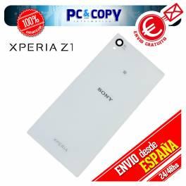 Tapa negra trasera bateria Sony Xperia Z1 L39h Negro L39H L39T C6902 C6903 bcv