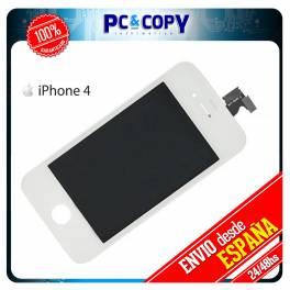 Pantalla LCD + Tactil completa para iPhone 4 4G Blanco Calidad A+