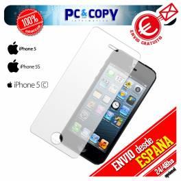 Cristal templado protector pantalla iphone 5 alta calidad