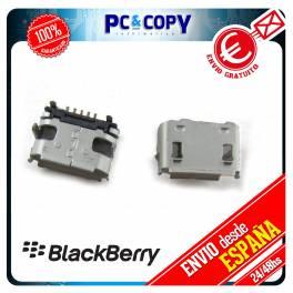 PACK 5 CONECTOR DE CARGA JACK BLACKBERRY 8520 9700 9780 MICRO MINI USB