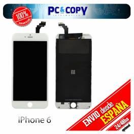 Pantalla completa LCD RETINA + Tactil iPhone 6 blanco screen Calidad A++ testeada