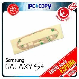PACK 10 ADHESIVO PEGATINA MARCO PANTALLA CRISTAL SAMSUNG GALAXY S4 I9500