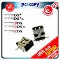 PACK 5 CONECTORES DE CARGA DC POWER JACK NINTENDO DSI DSIXL 3DS 3DSXL 2DS