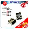 PACK 10 CONECTORES DE CARGA DC POWER JACK NINTENDO DSI DSIXL 3DS 3DSXL 2DS