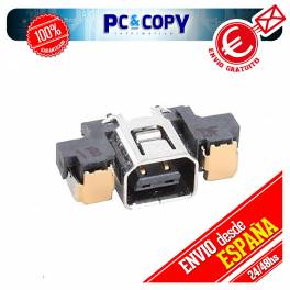 PACK 10 CONECTORES DE CARGA DC POWER JACK NINTENDO 3DS 3DSXL SOCKET DOCK CHARGING