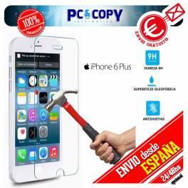 Cristal templado protector pantalla iphone 6 plus (5,5 pulgadas)Premium 0,3mm 9H