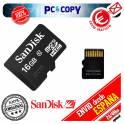 Tarjeta memoria microSD HC 16GB clase 10 - Micro SD 16 GB class 10 sanDisk nueva