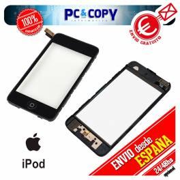 Pantalla Tactil iPod 2 2G GEN NEGRO DIGITALIZADOR TOUCH + ADHESIVO