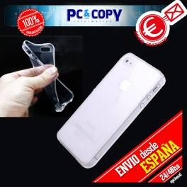 Funda gel TPU flexible transparente para iphone 4 4S. Ultra-thin cover iPhone 4