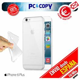 Funda gel TPU flexible transparente para iphone 6 plus. Ultra-thin cover iphone6