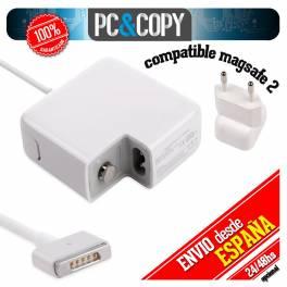 CARGADOR para Apple MagSafe 2 16,5V 3,65A 60W MacBook compatible Adapter A1435