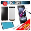 Pantalla COMPLETA LCD+TACTIL+ADHESIVO+ CRISTAL TEMPLADO Sony Xperia Z1 L39 C6902