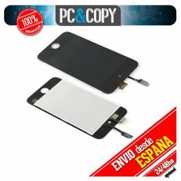 PANTALLA LCD COMPLETA IPOD TOUCH 4 4G. LCD SCREEN DISPLAY DIGITALIZADOR. NEGRO