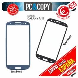 CRISTAL DE PANTALLA TACTIL PARA SAMSUNG GALAXY S3 i9300 TOUCH SCREEN LCD AZUL
