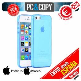 Funda gel TPU flexible transparente para iphone 5 5S . Ultra-thin cover iPhone
