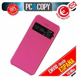 FUNDA LIBRO TAPA DURA CON VENTANA IPHONE 4 4S FLIP COVER BOOK CASE COLORES