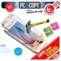 Cristal templado curvo dorado pantalla Samsung Galaxy S6 edge 9H 3D SM-G925F A++