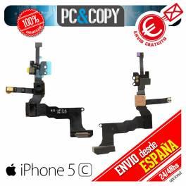 Flex cable camara frontal delantera sensor luz+proximidad+micro iphone 5c nuevo