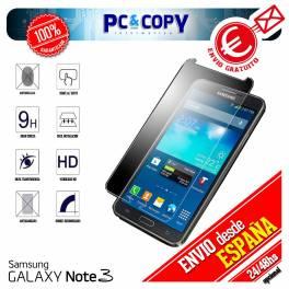 Cristal templado protector pantalla Samsung Galaxy Note 3 calidad Premium 0,3mm 9H