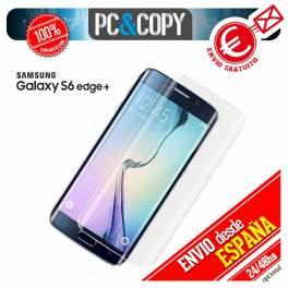 Cristal templado curvo transparente completo Samsung Galaxy S6 edge PLUS G928F