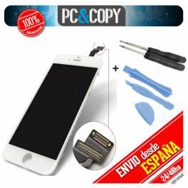 Pantalla completa LCD RETINA+Tactil para iPhone 6 Plus 5,5 blanca+herramientas A+
