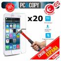 Pack 20 cristales templado Protector pantalla Para iphone 6 6S 7 4,7' Premium 9H