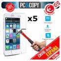 Pack 5 cristales templado Protector pantalla Para iphone 6 6S 7 4,7' Premium 9H