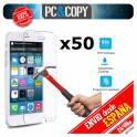 Pack 50 cristales templado Protector pantalla Para iphone 6 6S 7 4,7' Premium 9H