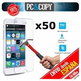 Pack 50 cristales templado Protector pantalla Para iphone 6 6S 4,7' Premium 9H