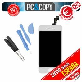 Pantalla LCD RETINA+Tactil completa para iPhone 5S BLANCO ORIGINAL +herramientas