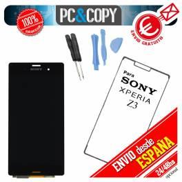 Pantalla COMPLETA LCD+TACTIL+ADHESIVO+HERRAMIENTAS Xperia Z3 D6603 D6653 D6616