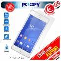 Pack 5 cristal templado protector pantalla Sony Xperia Z3 D6603 calidad Premium