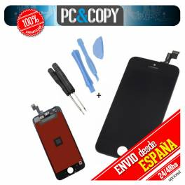 Pantalla LCD RETINA+Tactil completa para iPhone SE negro con herramienta SCREEN