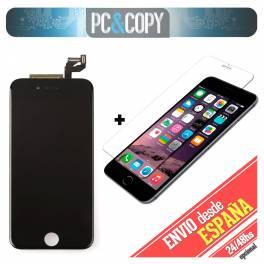 Pantalla completa LCD RETINA + Tactil iPhone 6S de 4,7 negra Calidad A++ testeada