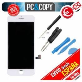 Pantalla completa LCD + Tactil iPhone 7 de 4,7 blanca Calidad A+ con Herramientas