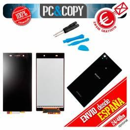 Pantalla COMPLETA LCD+TACTIL+ADHESIVO+HERRAMIENTAS Sony Xperia Z1 C6902 C6903 C6906 L39H L39
