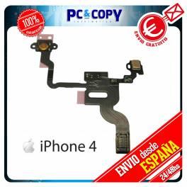 Flex Boton Power Encendido Sensor Proximidad Bloqueo iPhone 4 4G Reparacion Micro