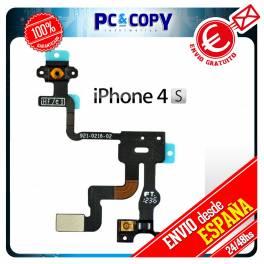 Flex Boton Power Encendido Sensor Proximidad Bloqueo iPhone 4S Reparacion Micro