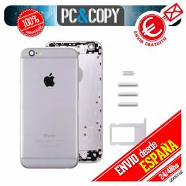 Chasis Tapa trasera GRIS ESPACIAL iPhone 6 Repuesto Carcasa bateria cubierta