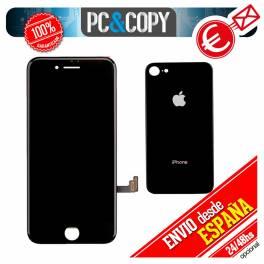 Pantalla completa LCD RETINA + Tactil iPhone 7 de 4,7 negra Calidad A++ testeada