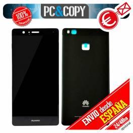 Pantalla LCD + Tapa original Huawei P9 Lite VNS-L21 L22 L23 L31 L53 NEGRO Calidad