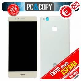 Pantalla LCD + Tapa trasera original Huawei P9 Lite BLANCO VNS-L21 L22 L23 L31 L53 Calidad
