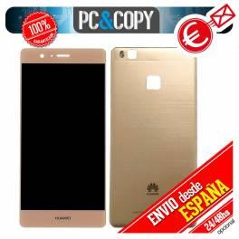 Pantalla LCD + Tapa trasera original Huawei P9 Lite ORO VNS-L21 L22 L23 L31 L53 Calidad