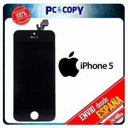 Pantalla LCD RETINA + Tactil completa para iPhone 5 5G NEGRO SCREEN ORIGINAL Calidad A+