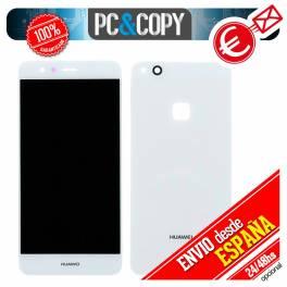 Pantalla LCD + Tapa trasera originales para Huawei P10 Lite BLANCO Calidad A+
